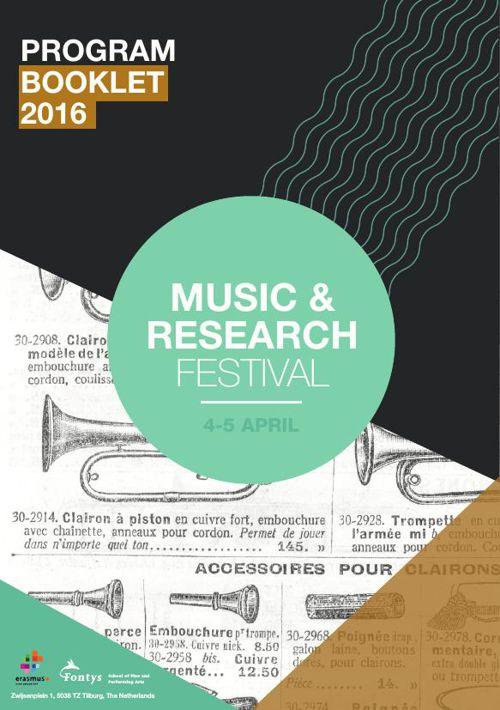 Programmaboekje || music & research