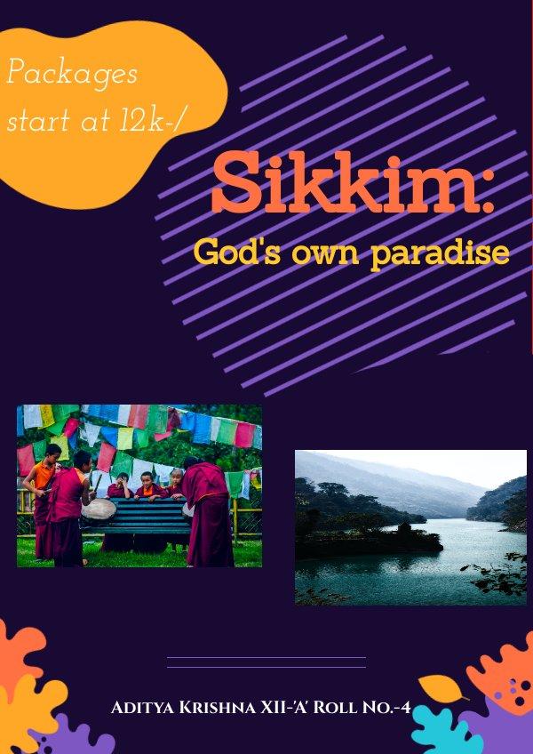 Sikkim Tourism by Aditya Krishna - Flipsnack