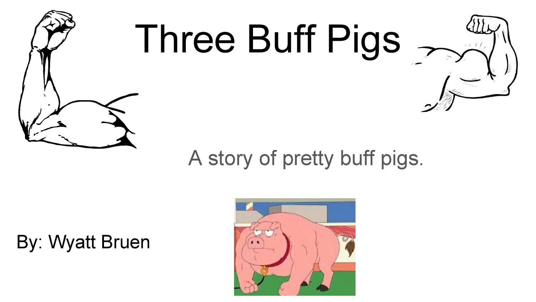 three buff pigs by wyatt bruen flipsnack