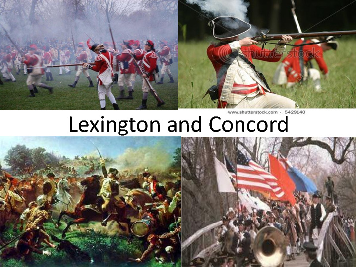 lexington and concord John parker leads a group of militia against overwhelming odds in the battle of lexington   for more, visit .