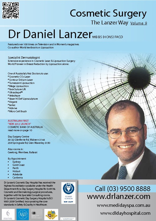 Copy of Dr Daniel Lanzer Cosmetic Surgery Book 2012 by