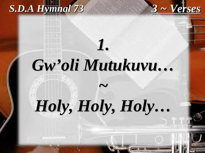 ENNYIMBA ZA KRISTO - LUGANDA SDA CHURCH HYMNAL by Nathan