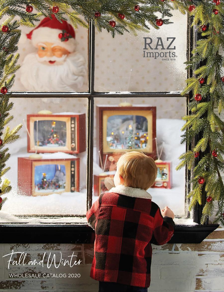 Raz 2021 Christmas Catalog Raz Imports Holiday 2020 By The Link Companies Flipsnack