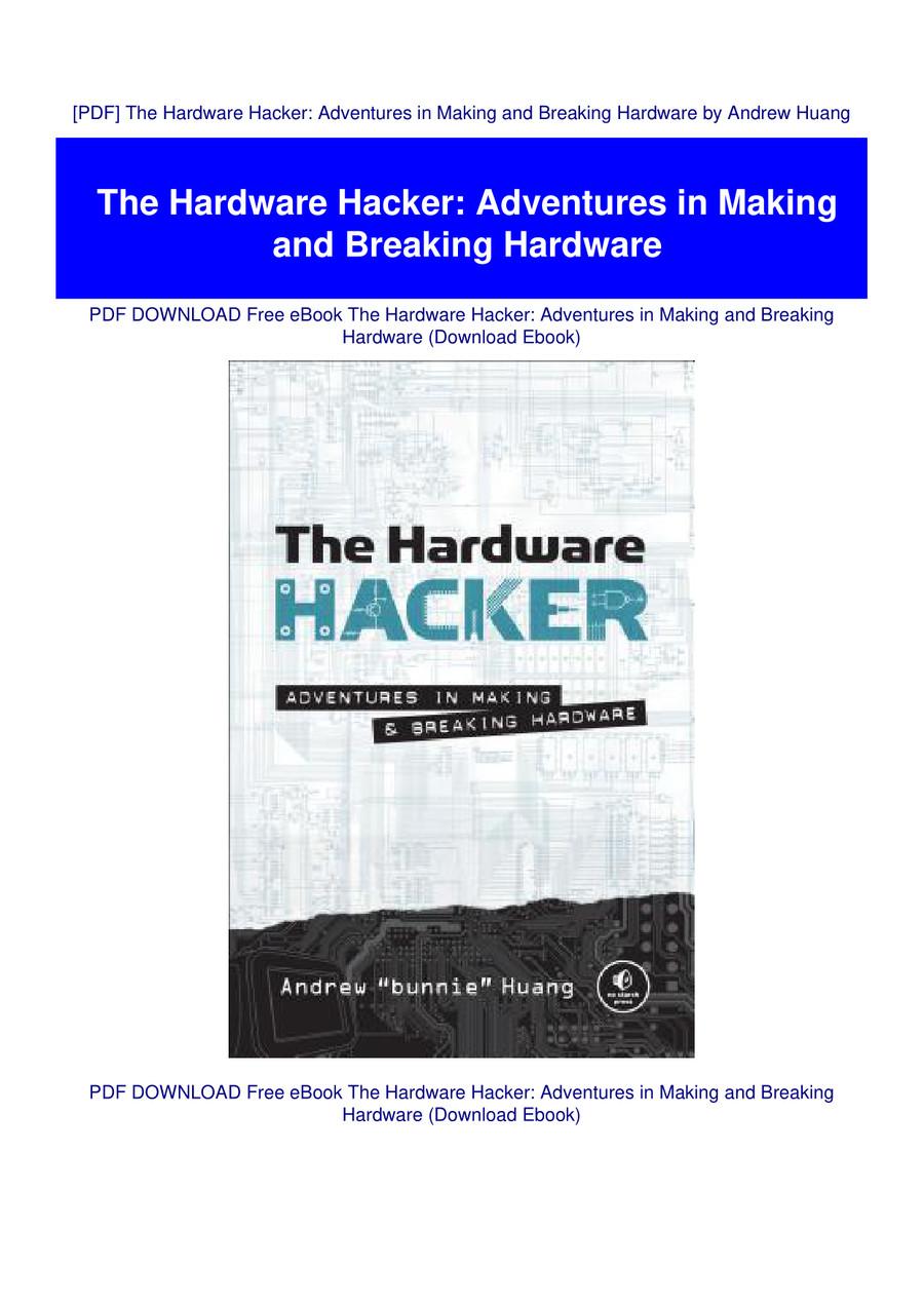 the hardware hacker pdf free download