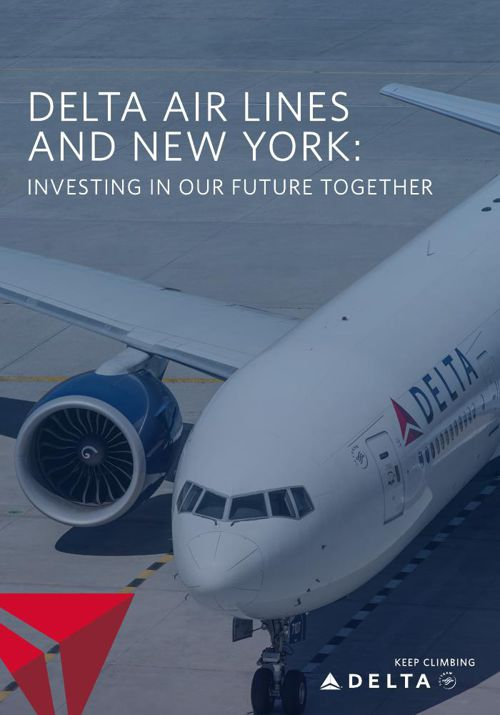 Delta Air Lines and New York - B2C