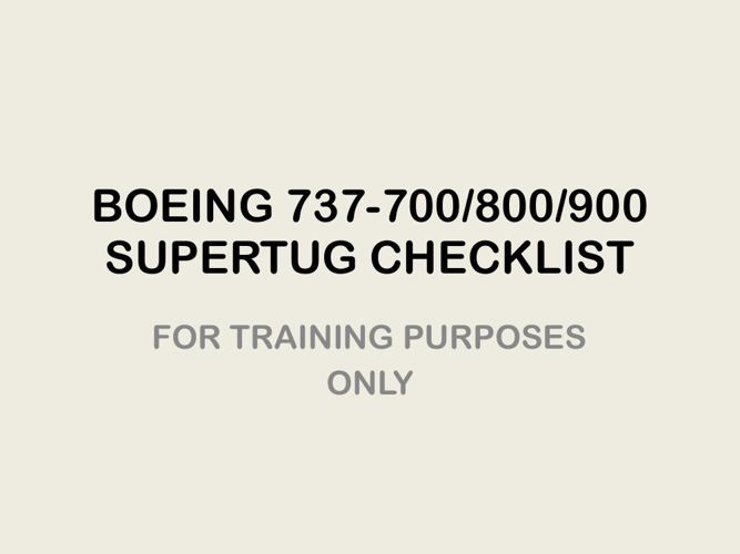 B-787 Checklist PDF by ssmith365 - Flipsnack