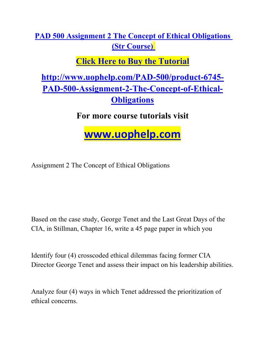 pad500 assignment 1 centralia Product description pad 500 assignment 1 centralia no 5.