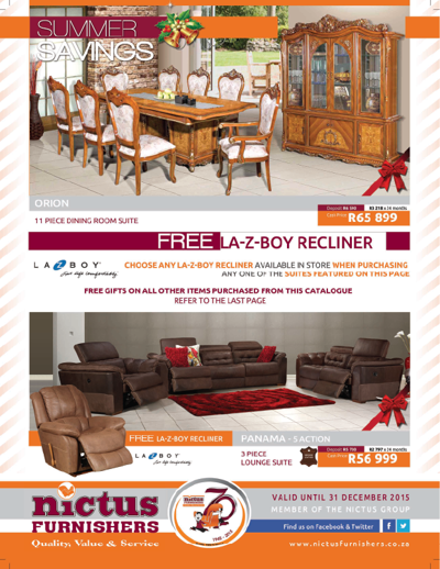 Nictus Furnishers Catalogue Oct Dec 2015 By F65aecaf8d6