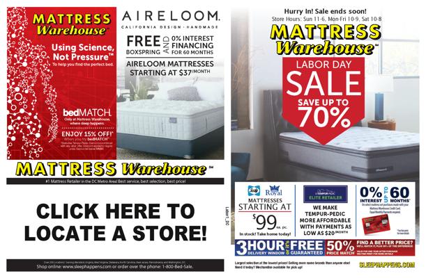 Mattress Warehouse Labor Day Sale By Mattress Warehouse Flipsnack