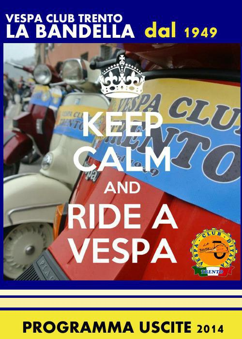 Calendario 1949.Calendario Vespa Club Trento 2014 By Daniela Flipsnack