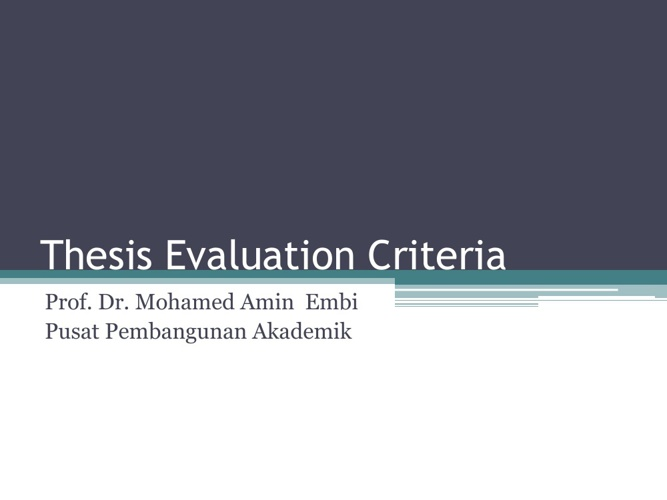 criteria for evaluating research papers One perspective recognized the importance of validity and reliability as criteria for evaluating qualitative research 132, 133 morse et al make the case that without validity and reliability, qualitative research risks being seen as nonscientific and lacking rigor 88, 125 their argument is compelling and suggests reliability and validity.