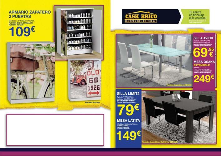 FLYER LIQUIDACION JUNIO-14-MUEBLES Y JARDIN-WEB by Cashbrico ...