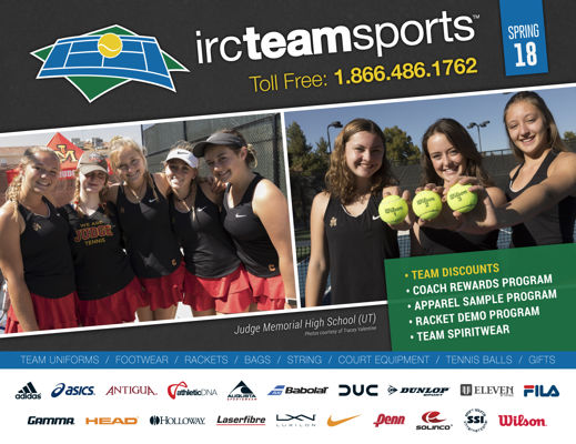Tennis Uniforms & Equipment for School Teams