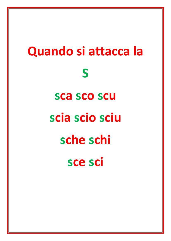 Trigrammi Sca Sco Scu Sci Sce By Natalina Flipsnack