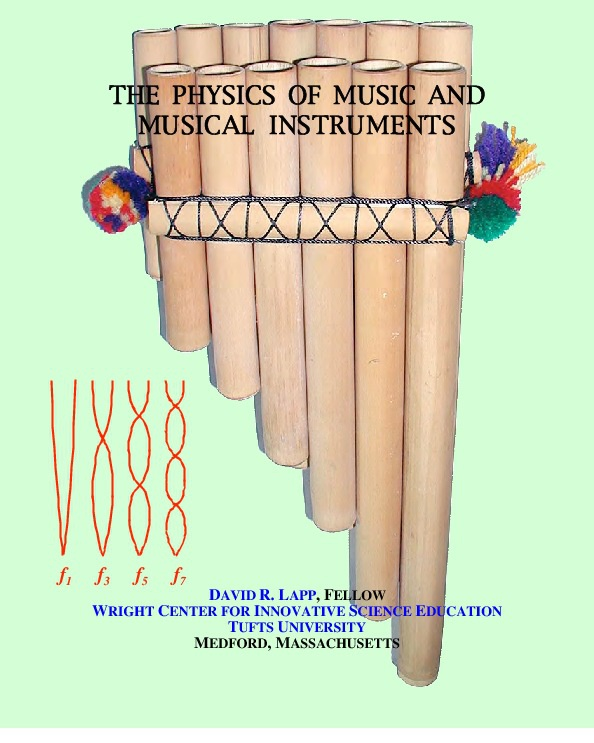 the physics of music This is a basic course in the physics of music and sound, taught on-line, and intended for students majoring in topics other than the sciences or mathematics (non.