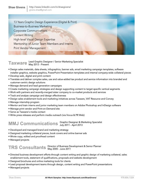 shae givens - resume by shae givens