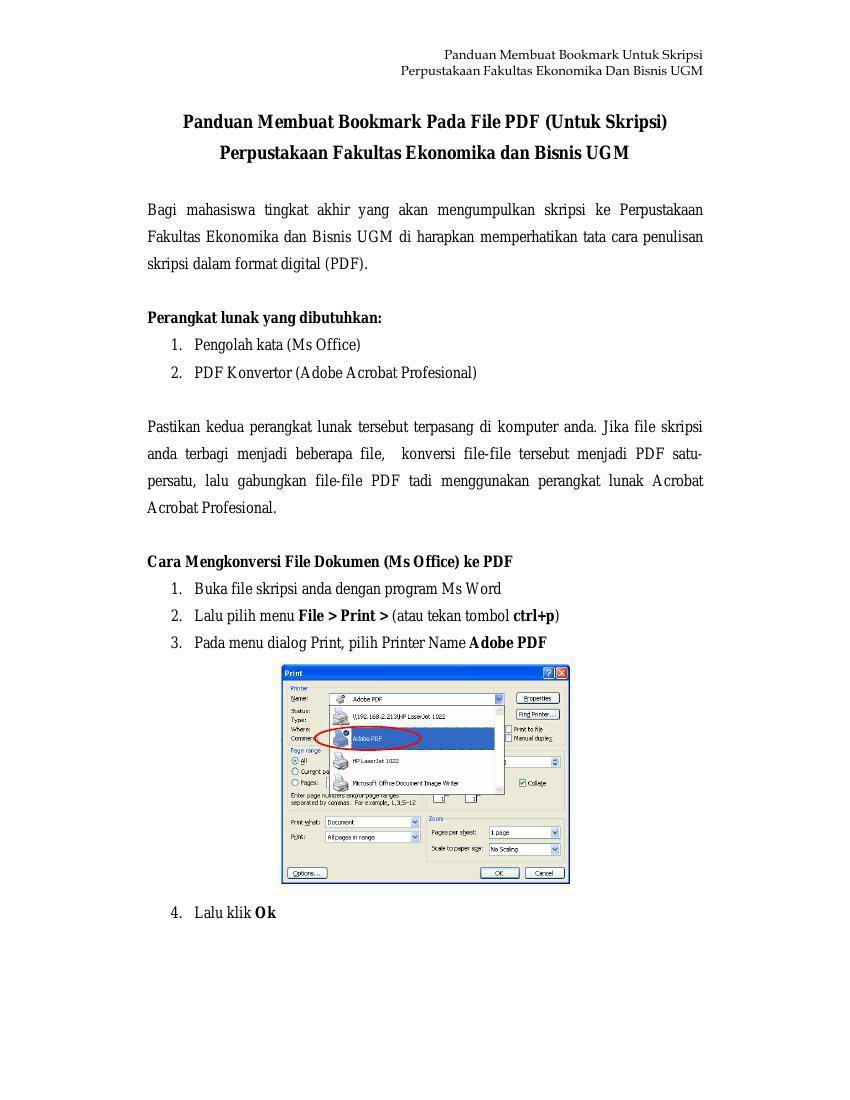 Panduan Membuat Bookmark By Fauzie Pradipta Flipsnack