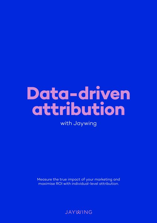 Data-driven attribution with Jaywing