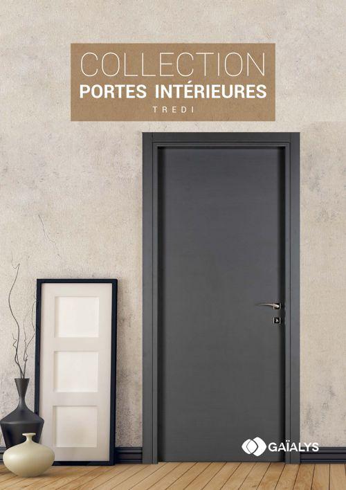 Catalogue Portes Intérieures TREDI By Gaialys Flipsnack - Porte placard coulissante et catalogue porte interieur