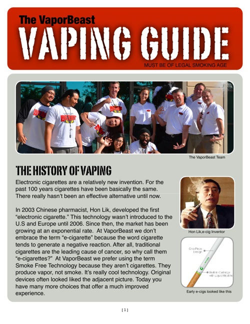 The VaporBeast Vaping Guide by Tim Campbell - Flipsnack
