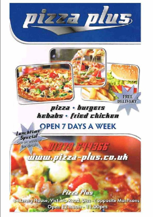 Pizza Plus Menu By Robert Green Flipsnack