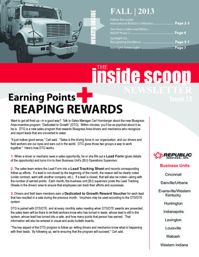 Inside Scoop Newsletter Fall 2013 by Redhatcreative - Flipsnack