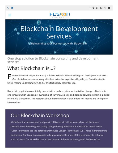 Blockchain Development Company Bangalore