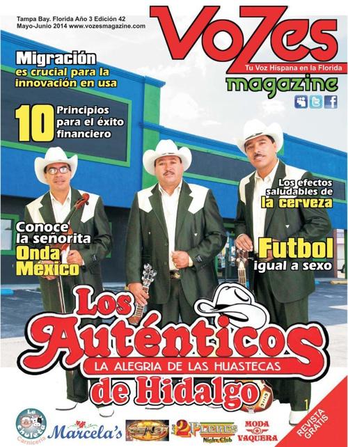 VOZES MAGAZINE_LOS AUTÉNTICOS DE HIDALGO by Vozes Magazine