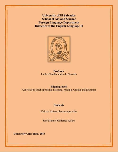 Activities to teach English skills  by EDidactics II - Flipsnack