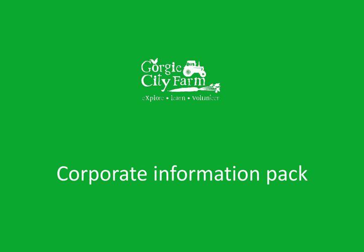 Information pack - 2018