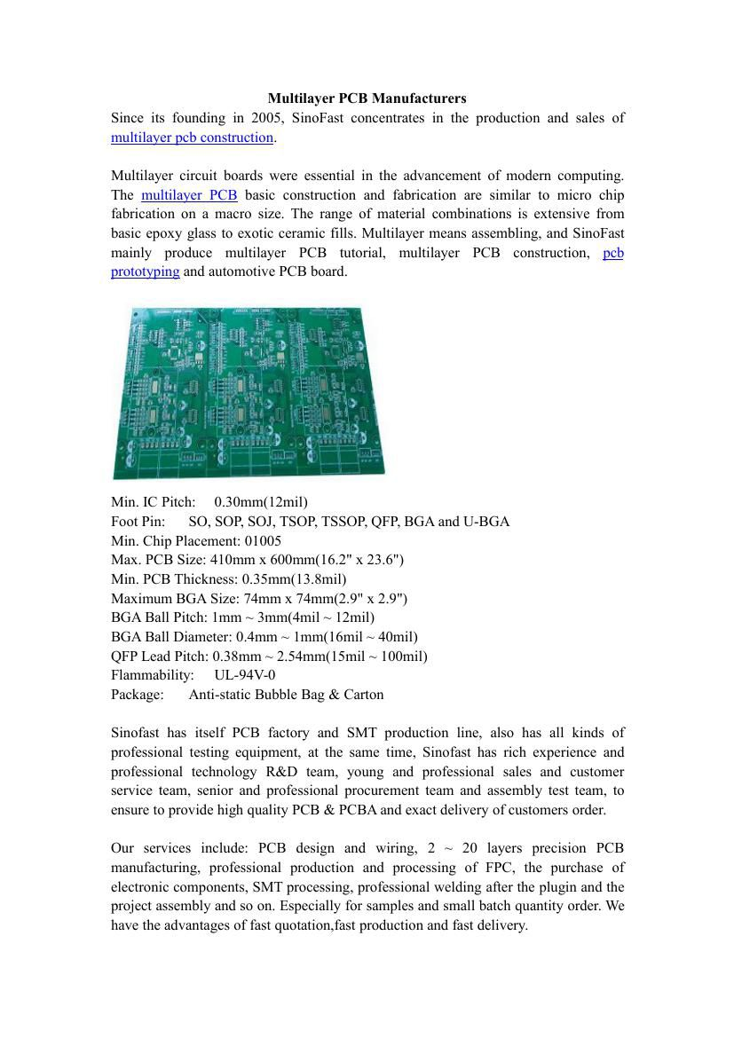 Multilayer Pcb Manufacturers By Zhen Shen Flipsnack Circuit Board Images