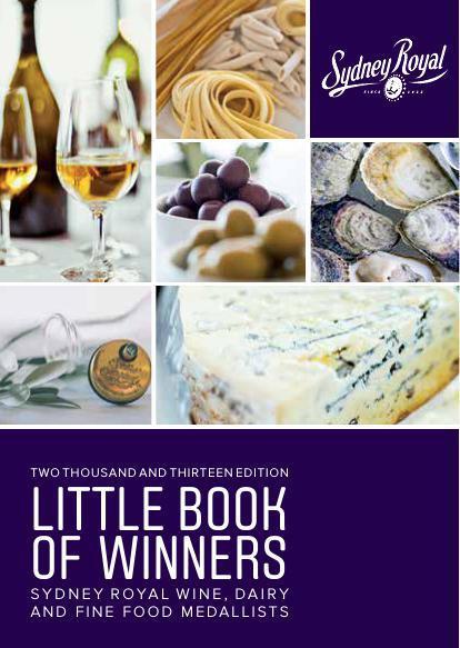 2013 Sydney Royal Little Book of Winners