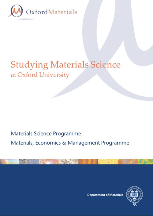 Studying Materials Science