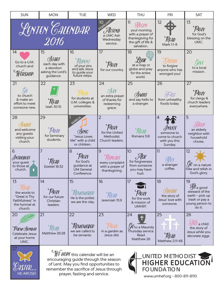 Lent Calendar 2016 by alicia - Flipsnack