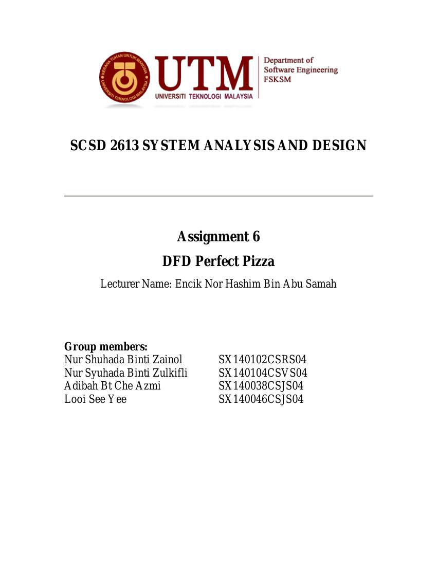 Scsd2613 assignment 6 dfd perfect pizza by nsyuhadazulkifli scsd2613 assignment 6 dfd perfect pizza by nsyuhadazulkifli flipsnack ccuart Image collections
