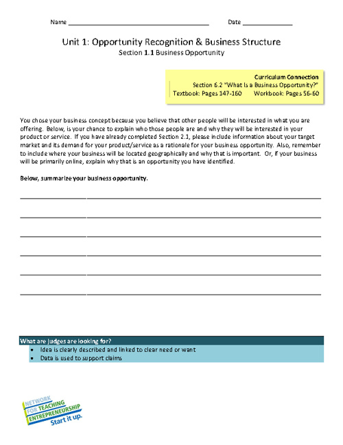 Written Business Plan Rubric By Chris Styles Flipsnack - Nfte business plan template