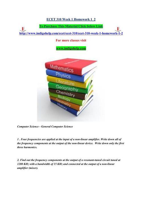 ECET 310 Week 1 Homework 1_2 by FD9DF9CA9F7 - Flipsnack