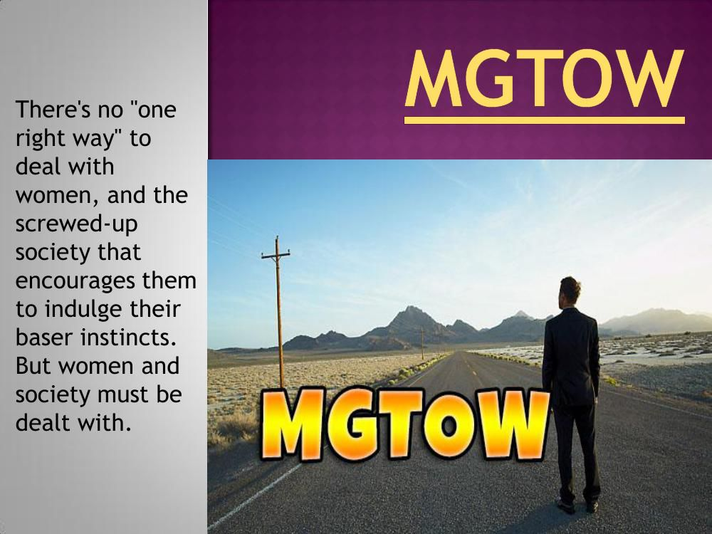 MGTOW by Men Going - Flipsnack