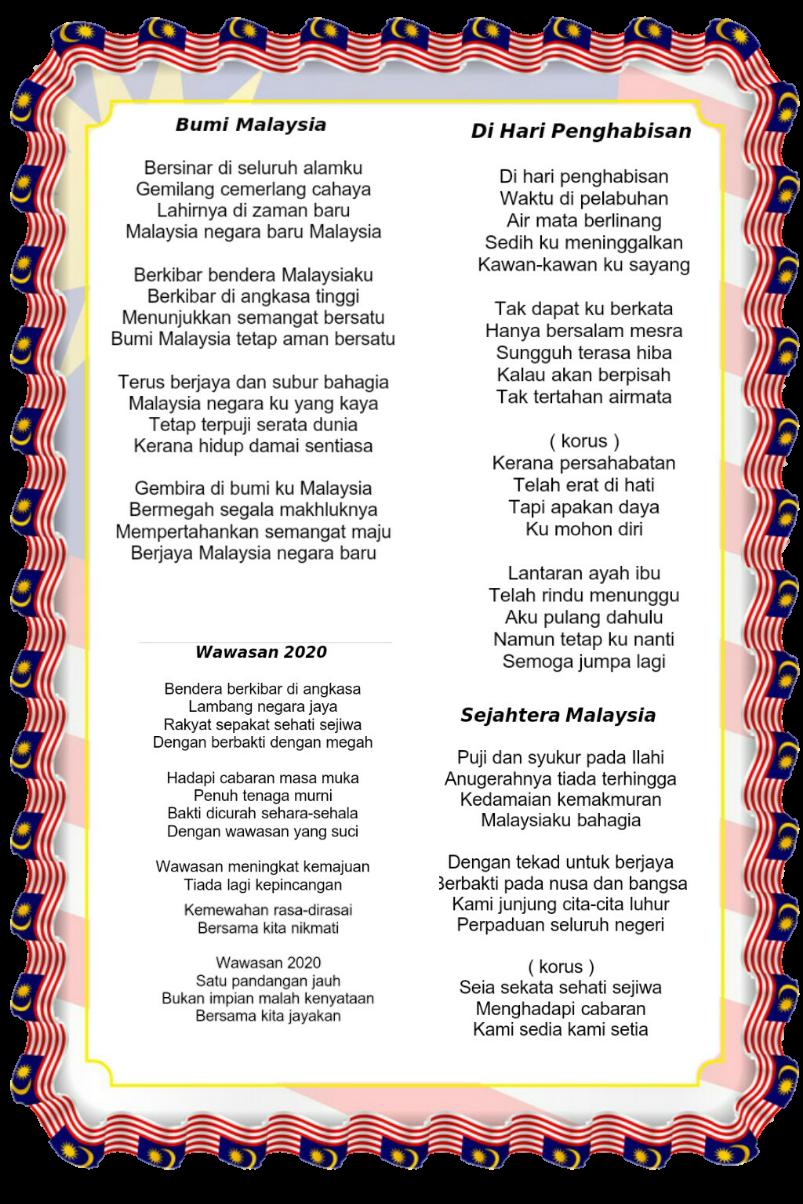 Lirik Lagu Patriotik By Kamariah Flipsnack